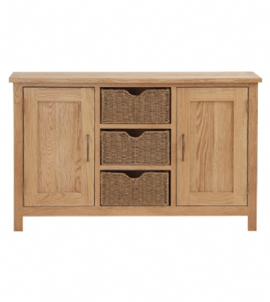 LARGE SIDEBOARD WITH BASKET S3265
